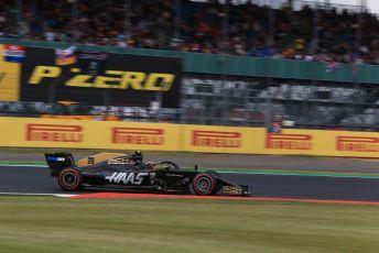 World © Octane Photographic Ltd. Formula 1 – British GP - Qualifying. Rich Energy Haas F1 Team VF19 – Kevin Magnussen. Silverstone Circuit, Towcester, Northamptonshire. Saturday 13th July 2019.