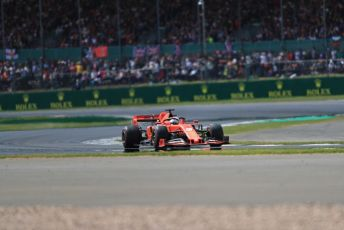 World © Octane Photographic Ltd. Formula 1 – British GP - Race. Scuderia Ferrari SF90 – Sebastian Vettel. Silverstone Circuit, Towcester, Northamptonshire. Sunday 14th July 2019.