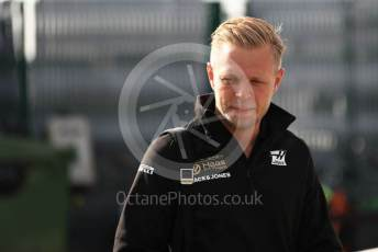 World © Octane Photographic Ltd. Formula 1 – British GP - Paddock. Rich Energy Haas F1 Team VF19 – Kevin Magnussen. Silverstone Circuit, Towcester, Northamptonshire. Friday 12th July 2019.