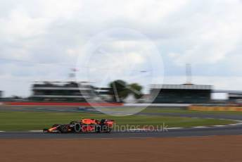 World © Octane Photographic Ltd. Formula 1 – British GP - Practice 1. Aston Martin Red Bull Racing RB15 – Pierre Gasly. Silverstone Circuit, Towcester, Northamptonshire. Friday 12th July 2019.
