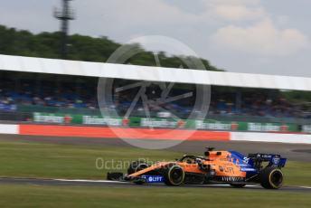 World © Octane Photographic Ltd. Formula 1 – British GP - Practice 1. McLaren MCL34 – Carlos Sainz. Silverstone Circuit, Towcester, Northamptonshire. Friday 12th July 2019.