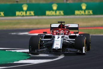 World © Octane Photographic Ltd. Formula 1 – British GP - Practice 2. Alfa Romeo Racing C38 – Kimi Raikkonen. Silverstone Circuit, Towcester, Northamptonshire. Friday 12th July 2019.