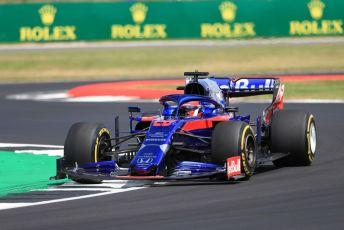World © Octane Photographic Ltd. Formula 1 – British GP - Practice 2. Scuderia Toro Rosso STR14 – Daniil Kvyat. Silverstone Circuit, Towcester, Northamptonshire. Friday 12th July 2019.