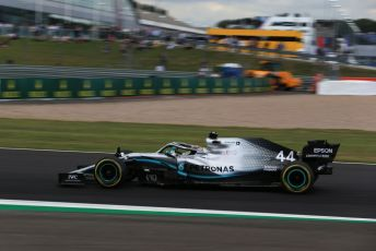 World © Octane Photographic Ltd. Formula 1 – British GP - Practice 2. Mercedes AMG Petronas Motorsport AMG F1 W10 EQ Power+ - Lewis Hamilton. Silverstone Circuit, Towcester, Northamptonshire. Friday 12th July 2019.