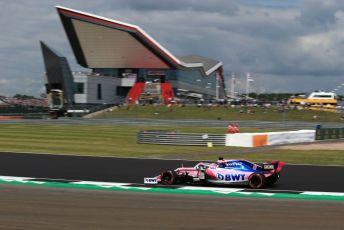 World © Octane Photographic Ltd. Formula 1 – British GP - Practice 2. SportPesa Racing Point RP19 - Sergio Perez. Silverstone Circuit, Towcester, Northamptonshire. Friday 12th July 2019.