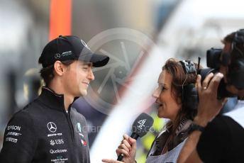 World © Octane Photographic Ltd. Formula 1 - British GP - Practice 3. Esteban Gutierrez - Simulator Driver for Mercedes. Silverstone Circuit, Towcester, Northamptonshire. Saturday 13th July 2019.