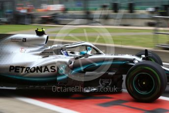 World © Octane Photographic Ltd. Formula 1 – British GP - Practice 3. Mercedes AMG Petronas Motorsport AMG F1 W10 EQ Power+ - Valtteri Bottas. Silverstone Circuit, Towcester, Northamptonshire. Saturday 13th July 2019.