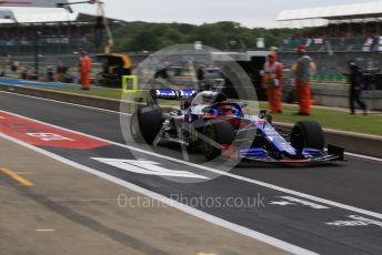 World © Octane Photographic Ltd. Formula 1 – British GP - Practice 3. Scuderia Toro Rosso STR14 – Daniil Kvyat. Silverstone Circuit, Towcester, Northamptonshire. Saturday 13th July 2019.