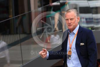 World © Octane Photographic Ltd. Formula 1 - British GP - Paddock. Sean Bratches - Managing Director, Commercial Operations of Liberty Media. Silverstone Circuit, Towcester, Northamptonshire. Saturday 13th July 2019.