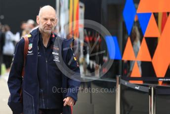 World © Octane Photographic Ltd. Formula 1 - British GP - Paddock. Adrian Newey - Chief Technical Officer of Red Bull Racing. Silverstone Circuit, Towcester, Northamptonshire. Saturday 13th July 2019.