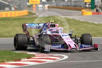 World © Octane Photographic Ltd. Formula 1 – Canadian GP. Practice 1. SportPesa Racing Point RP19 – Lance Stroll. Circuit de Gilles Villeneuve, Montreal, Canada. Friday 7th June 2019.
