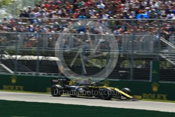 World © Octane Photographic Ltd. Formula 1 – Canadian GP. Practice 2. Renault Sport F1 Team RS19 – Nico Hulkenberg. Circuit de Gilles Villeneuve, Montreal, Canada. Friday 7th June 2019.