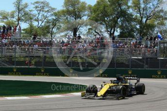 World © Octane Photographic Ltd. Formula 1 – Canadian GP. Practice 2. Renault Sport F1 Team RS19 – Daniel Ricciardo. Circuit de Gilles Villeneuve, Montreal, Canada. Friday 7th June 2019.