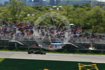 World © Octane Photographic Ltd. Formula 1 – Canadian GP. Practice 2. Rich Energy Haas F1 Team VF19 – Kevin Magnussen. Circuit de Gilles Villeneuve, Montreal, Canada. Friday 7th June 2019.