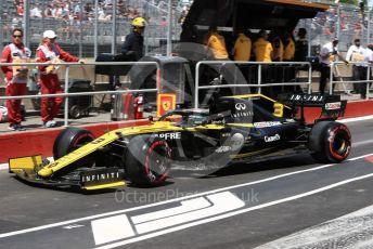 World © Octane Photographic Ltd. Formula 1 – Canadian GP. Practice 3. Renault Sport F1 Team RS19 – Daniel Ricciardo. Circuit de Gilles Villeneuve, Montreal, Canada. Saturday 8th June 2019.