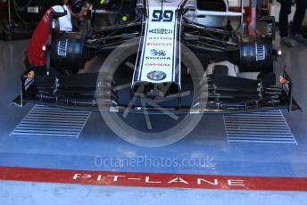 World © Octane Photographic Ltd. Formula 1 – Canadian GP. Practice 3. Alfa Romeo Racing C38 – Antonio Giovinazzi. Circuit de Gilles Villeneuve, Montreal, Canada. Saturday 8th June 2019.
