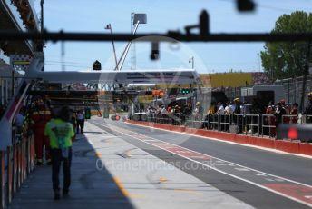 World © Octane Photographic Ltd. Formula 1 – Canadian GP. Practice 3. Pitlane. Circuit de Gilles Villeneuve, Montreal, Canada. Saturday 8th June 2019.