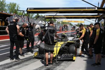 World © Octane Photographic Ltd. Formula 1 – Canadian GP. Practice 3. Renault Sport F1 Team RS19 – Nico Hulkenberg. Circuit de Gilles Villeneuve, Montreal, Canada. Saturday 8th June 2019.