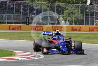 World © Octane Photographic Ltd. Formula 1 – Canadian GP. Qualifying. Scuderia Toro Rosso STR14 – Alexander Albon. Circuit de Gilles Villeneuve, Montreal, Canada. Saturday 8th June 2019.