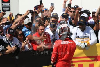 World © Octane Photographic Ltd. Formula 1 – Canadian GP. Parc Ferme. Scuderia Ferrari SF90 – Charles Leclerc. Circuit de Gilles Villeneuve, Montreal, Canada. Sunday 9th June 2019.