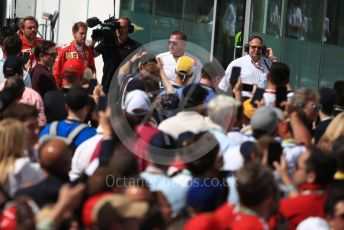 World © Octane Photographic Ltd. Formula 1 – Canadian GP. Parc Ferme. Scuderia Ferrari SF90 – Sebastian Vettel. Circuit de Gilles Villeneuve, Montreal, Canada. Sunday 9th June 2019.