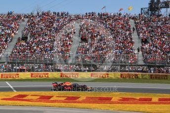 World © Octane Photographic Ltd. Formula 1 – Canadian GP. Race. Aston Martin Red Bull Racing RB15 – Pierre Gasly. Circuit de Gilles Villeneuve, Montreal, Canada. Sunday 9th June 2019.