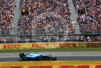 World © Octane Photographic Ltd. Formula 1 – Canadian GP. Race. ROKiT Williams Racing FW42 – Robert Kubica. Circuit de Gilles Villeneuve, Montreal, Canada. Sunday 9th June 2019.