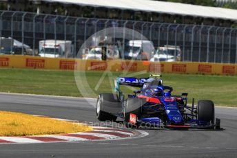 World © Octane Photographic Ltd. Formula 1 – Canadian GP. Race. Scuderia Toro Rosso STR14 – Alexander Albon. Circuit de Gilles Villeneuve, Montreal, Canada. Sunday 9th June 2019.