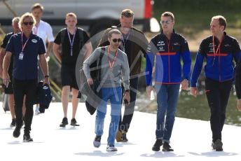 World © Octane Photographic Ltd. Formula 1 – Canadian GP. Paddock. Scuderia Toro Rosso STR14 – Daniil Kvyat. Circuit de Gilles Villeneuve, Montreal, Canada. Friday 7th June 2019.