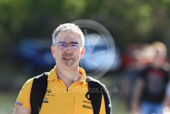 World © Octane Photographic Ltd. Formula 1 - Canadian GP. Paddock. Nick Chester – Chassis Technical Director at Renault Sport Formula 1 Team. Circuit de Gilles Villeneuve, Montreal, Canada. Saturday 8th June 2019.