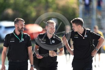 World © Octane Photographic Ltd. Formula 1 – Canadian GP. Paddock. Rich Energy Haas F1 Team VF19 – Kevin Magnussen. Circuit de Gilles Villeneuve, Montreal, Canada. Saturday 8th June 2019.