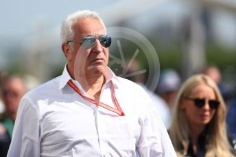 World © Octane Photographic Ltd. Formula 1 - Canadian GP. Paddock. Lance Stroll father Lawrence Stroll - investor, part-owner of SportPesa Racing Point. Circuit de Gilles Villeneuve, Montreal, Canada. Sunday 9th June 2019.