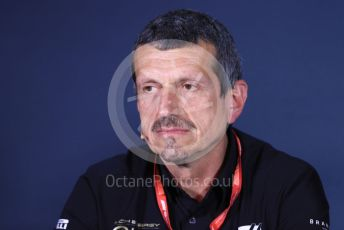 World © Octane Photographic Ltd. Formula 1 - Canadian GP – Friday FIA Team Press Conference. Guenther Steiner  - Team Principal of Rich Energy Haas F1 Team. Circuit de Gilles Villeneuve, Montreal, Canada. Friday 7th June 2019.