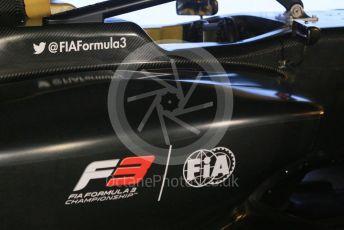World © Octane Photographic Ltd. Formula 1 –  Abu Dhabi GP - Paddock. 2019 FIA F3 car lauch. Yas Marina Circuit, Abu Dhabi. Thursday 22nd November 2018.