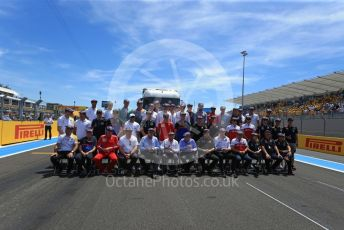 World © Octane Photographic Ltd. Formula 1 - French GP. Sir Jackie Stewart 80th Birthday celebrations . Paul Ricard Circuit, La Castellet, France. Sunday 23rd June 2019.