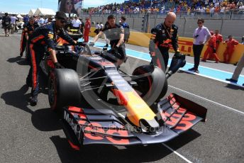 World © Octane Photographic Ltd. Formula 1 – French GP. Grid. Aston Martin Red Bull Racing RB15 – Pierre Gasly. Paul Ricard Circuit, La Castellet, France. Sunday 23rd June 2019.