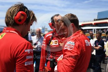 World © Octane Photographic Ltd. Formula 1 – French GP. Grid. Scuderia Ferrari SF90 – Sebastian Vettel. Paul Ricard Circuit, La Castellet, France. Sunday 23rd June 2019.