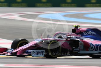 World © Octane Photographic Ltd. Formula 1 – French GP. Practice 1. SportPesa Racing Point RP19 – Lance Stroll. Paul Ricard Circuit, La Castellet, France. Friday 21st June 2019.