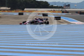 World © Octane Photographic Ltd. Formula 1 – French GP. Practice 1. SportPesa Racing Point RP19 - Sergio Perez. Paul Ricard Circuit, La Castellet, France. Friday 21st June 2019.