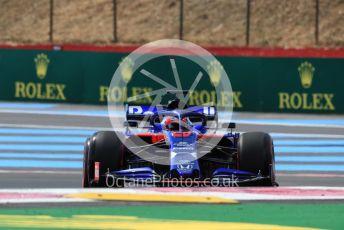 World © Octane Photographic Ltd. Formula 1 – French GP. Practice 1. Scuderia Toro Rosso STR14 – Daniil Kvyat. Paul Ricard Circuit, La Castellet, France. Friday 21st June 2019.