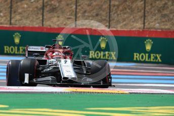World © Octane Photographic Ltd. Formula 1 – French GP. Practice 1. Alfa Romeo Racing C38 – Kimi Raikkonen. Paul Ricard Circuit, La Castellet, France. Friday 21st June 2019.