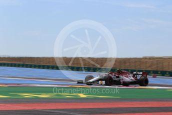 World © Octane Photographic Ltd. Formula 1 – French GP. Practice 1. Alfa Romeo Racing C38 – Antonio Giovinazzi. Paul Ricard Circuit, La Castellet, France. Friday 21st June 2019.
