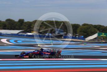World © Octane Photographic Ltd. Formula 1 – French GP. Practice 1. Scuderia Toro Rosso STR14 – Alexander Albon. Paul Ricard Circuit, La Castellet, France. Friday 21st June 2019.
