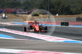 World © Octane Photographic Ltd. Formula 1 – French GP. Qualifying. Scuderia Ferrari SF90 – Sebastian Vettel. Paul Ricard Circuit, La Castellet, France. Saturday 22nd June 2019.