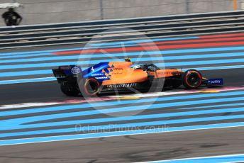 World © Octane Photographic Ltd. Formula 1 – French GP. Qualifying. McLaren MCL34 – Lando Norris. Paul Ricard Circuit, La Castellet, France. Saturday 22nd June 2019.