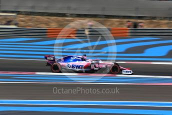 World © Octane Photographic Ltd. Formula 1 – French GP. Qualifying. SportPesa Racing Point RP19 - Sergio Perez. Paul Ricard Circuit, La Castellet, France. Saturday 22nd June 2019.