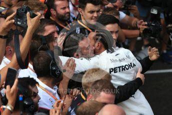 World © Octane Photographic Ltd. Formula 1 – French GP. Podium. Mercedes AMG Petronas Motorsport AMG F1 W10 EQ Power+ - Lewis Hamilton. Paul Ricard Circuit, La Castellet, France. Sunday 23rd June 2019.