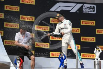 World © Octane Photographic Ltd. Formula 1 – French GP. Podium. Mercedes AMG Petronas Motorsport AMG F1 W10 EQ Power+ - Valtteri Bottas. Paul Ricard Circuit, La Castellet, France. Sunday 23rd June 2019.