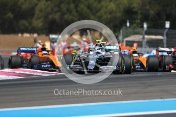 World © Octane Photographic Ltd. Formula 1 – French GP. Race. Mercedes AMG Petronas Motorsport AMG F1 W10 EQ Power+ - Valtteri Bottas. Paul Ricard Circuit, La Castellet, France. Sunday 23rd June 2019.