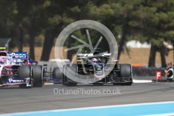 World © Octane Photographic Ltd. Formula 1 – French GP. Race. Rich Energy Haas F1 Team VF19 – Romain Grosjean. Paul Ricard Circuit, La Castellet, France. Sunday 23rd June 2019